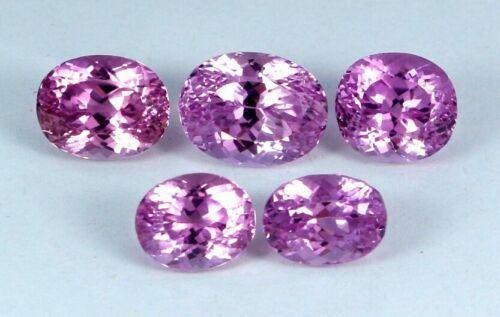 VVS 50.60 CT Lot of Natural Deep Pink Color Kunzite Gemstone From Afghanistan