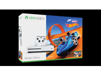 Xbox One S + Forza Horizon 3 & Hot Wheels DLC - 14 day Xbox Live Gold trial, 1 month Game Pass