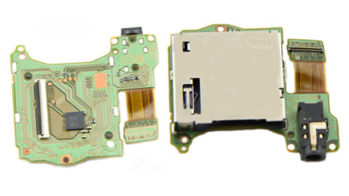 Card Slot Reader Game Cartridge Tray Headphones Jack Port Fit Nintendo Switch