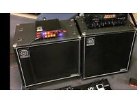 ampeg classic 410 cab and 115