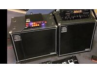 Ampeg bass cabs