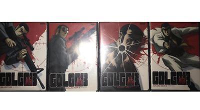 """GOLGO 13: DVD (COMPLETE SERIES VOLUME 1-4) """"4-DVD SET"""" (Non Collectible)"""