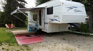 2003 Citation Lite Fifth Wheel - Hunters special
