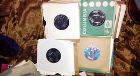 """Approx 200 7"""" 45's all 1960's"""