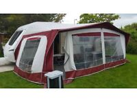 Bradcot Active Awning 960 in Burgundy