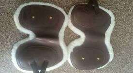 GFS Havana Sheepskin Lined Tendon and Fetlock Boots