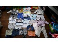 Baby boy bundle 6/9 months