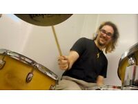 Great Drum Teacher! First Lesson Half Price =-)