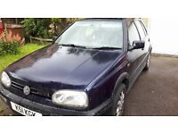 Volkswagen Golf GTI. £200. MOT covered for further 6 months.