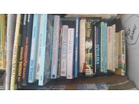 Assorted books and many Aquarium/Fish keeping books