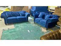 BRAND NEW BUTTERFLY 3+2 SOFA SET AVAILABLE IN MORE COLOURS