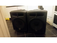 active dj bass bins / subwoofers