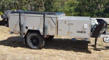 Black Series Dominator Off Road Camper Trailer Anna Bay Port Stephens Area Preview