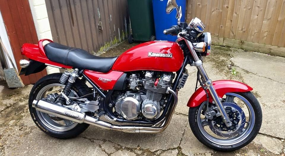 for sale kawasaki zephyr 750 c3 lovely condition for year. Black Bedroom Furniture Sets. Home Design Ideas