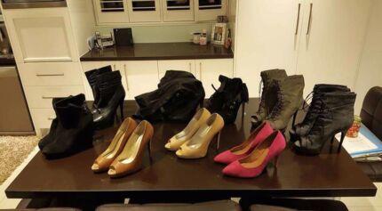Ladies shoes 9 pairs  Kensington Melbourne City Preview