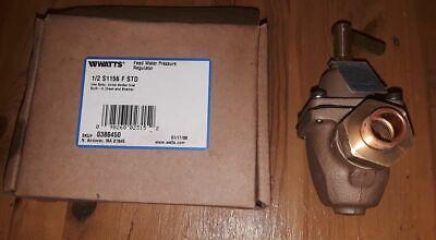 1 Watts Radiant Feed Water Pressure Regulator 12 S1156 F Std Sku0386450 New