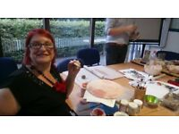 POTTERY CLASSES AT FORGE FACH COMMUNITY CENTRE CLYDACH