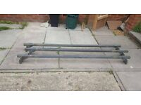 3 roof bars fit ford transit, Possibly other vans