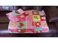 Peppa Pig Single Duvet Cover and Pillow Case