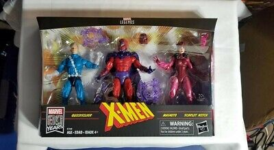 Marvel Legends X Men Family Matters 3 Pack Magneto Quicksilver Scarlett Witch
