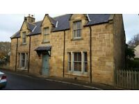 3/4 Bed Victorian Town House, Tain, 2 reception rooms, large enc. rear garden, large cosy kitchen