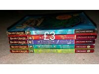 Beast Quest books 2,3,4,6,7