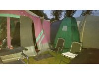 Raclet Trailer Tent for sale