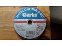 """metal cutting discs 7"""" x5 £4"""