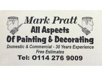 Painter & Decorator available for work