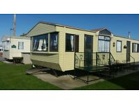 6 BERTH CARAVAN FOR HIRE. TOWYN ABERGELE. PET FRIENDLY. BEACH ACCESS. KIDS POOL AND PLAY AREAS