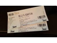 2 x Belle and Sebastian - Edinburgh Usher Hall, 24/03/18