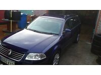vw passat 1.9tdi pd 130 ,2005, 5 speed estate