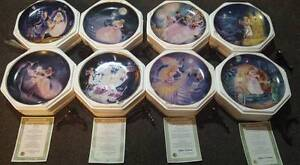 Franklin Mint - 8 Heirloom Collector Plates - Cinderella Raceview Ipswich City Preview
