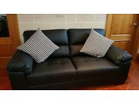 Brand New Luxury sofa suite corner couch leather Interior Designer Massiv Clearance Go On Call Now