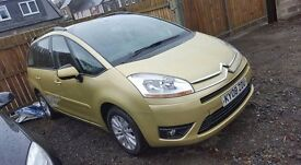 CITROEN C4 PICASSO 7 SEATER GREAT CONDITION 1 YEAR MOT FULL SERVICE HISTORY