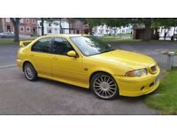 Yellow MG ZS 180 / One owner / FSH