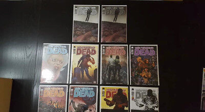 Walking dead comic lot issue 100 -10 different covers WoW for sale  North York