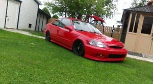 Honda civic 98 si clean cut