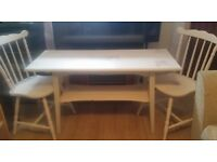 lovely shabby chic table and chairs