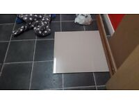 8 windsor pocelain tiles-(biege) 600 x 600 or just under 24 inches legnth and width