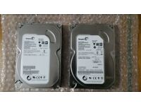 2x 500 GB Seagate HDD (MINT CONDITION)