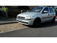 2002 Vauxhall Corsa C Comfort 1.7 DTI Diesel not SXI, SRI, VXR, Astra, Vectra - £595