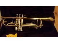 GOOD AS NEW TRUMPET WITH HARD CASE & MOUTHPIECE - proceeds to Charity