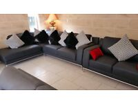 Brand New and exshow home Luxurious sofa suite couch armchair Interior designer having massive sale