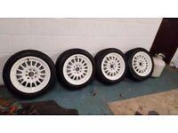 Rota track R's...mint condition...mint toyo proxies 4x100