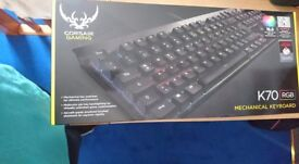 Corsair gaming keyboard K70