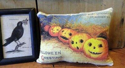 PRIMITIVE~ FOLK ART~ Halloween - Halloween Folk Art Primitives