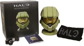New Halo Masterchief Blue Tooth Helmet For Sale. New in Box.