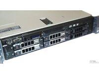 dell poweredge Server R710 2 Quad core processors 32 gig ram + 3 x 146 mini SAS drives