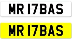 MR ABASS number plate